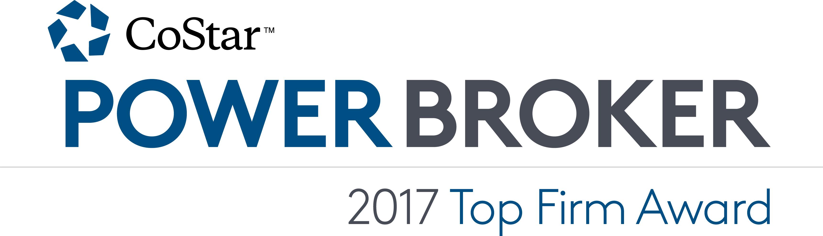 2017 Power Broker Top Firm Award