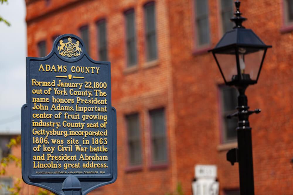 Adams County Gettysburg Spotlight