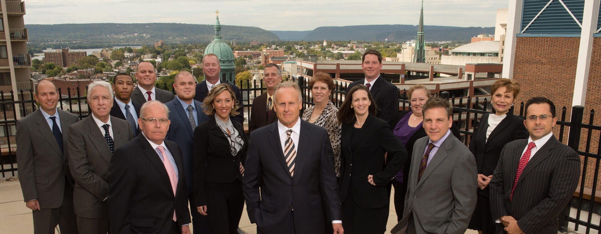 Landmark Commercial Realty rooftop office photo
