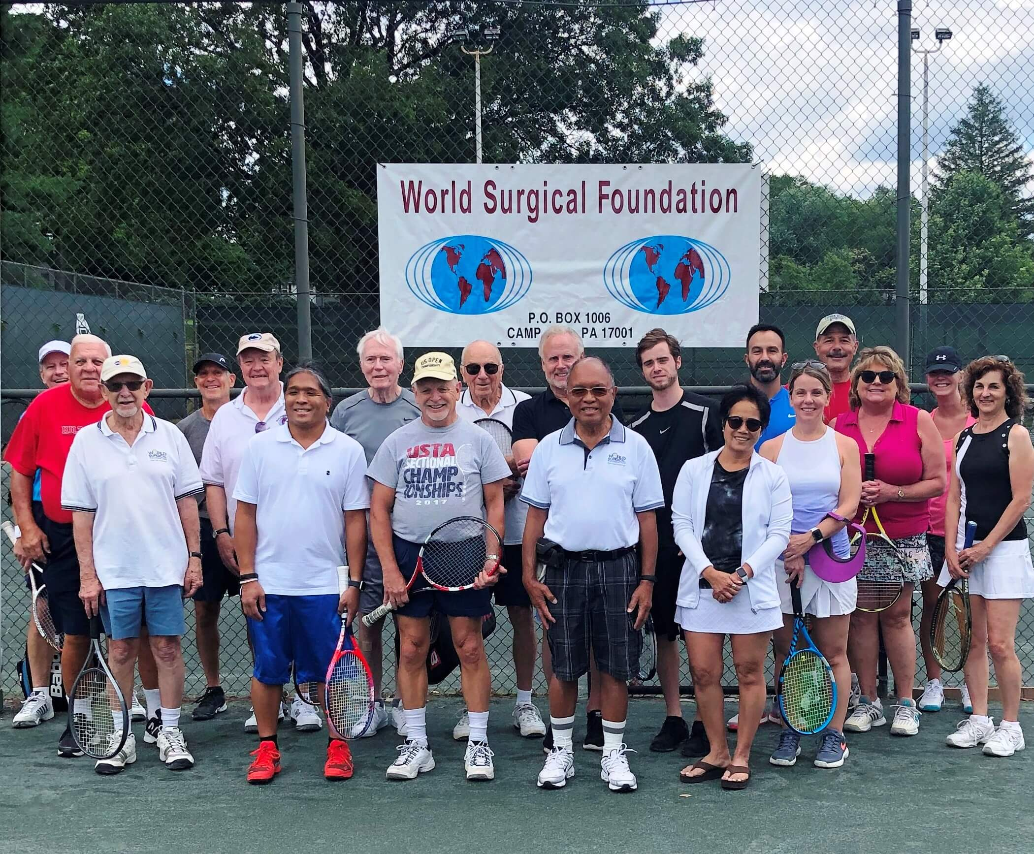 Landmark sponsors World Surgical Foundation's Annual Tennis FUNdraiser